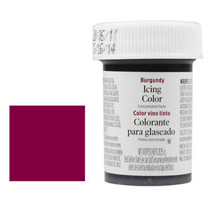 Foto: WILTON Colorante in Gel  28 gr. Bordeaux