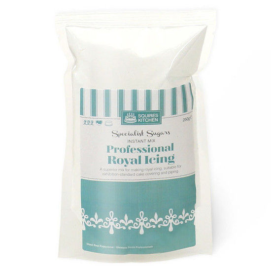 Foto: SQUIRES KITCHEN Professional Royal Icing- Ghiaccia reale 500 GR.