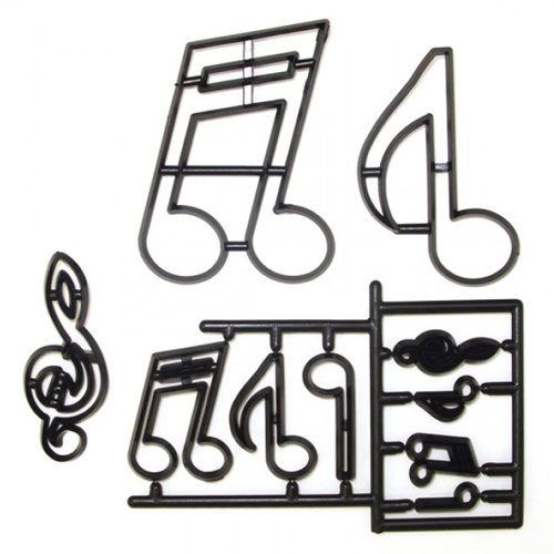 Foto: Patchwork Cutter Extra Large Music Notes