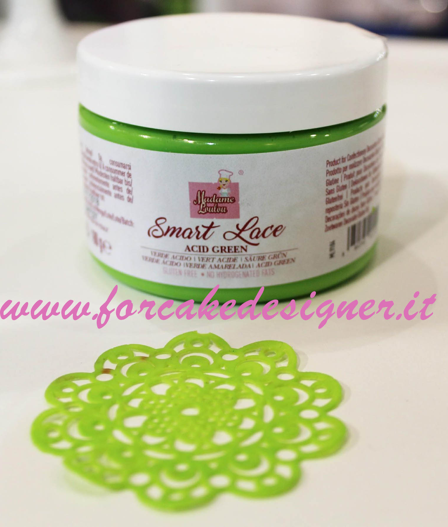 Foto: Madame Loulou - Smart Lace verde acido 160 gr.