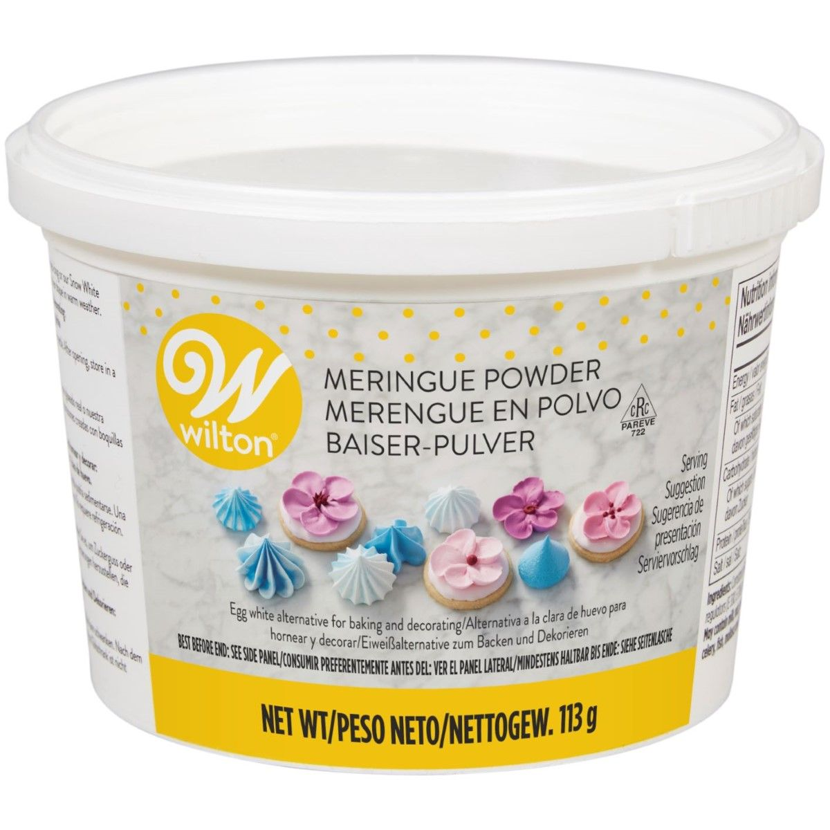 Foto: WILTON MERINGUE POWDER 113G