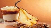 Verrina pere, caramello e noci